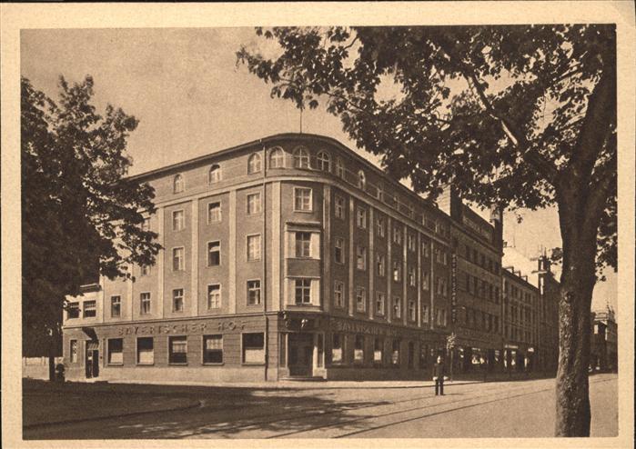 Augsburg Hotel Bayerischer Hof Kat. Augsburg