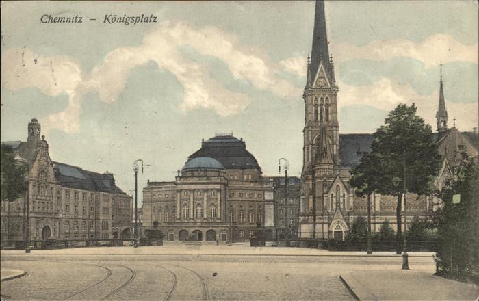 Chemnitz Koenigsplatz Kat. Chemnitz