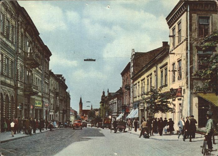 Tarnow Tarnau Ulica Krakowska / Tarnow /