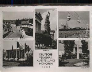 Muenchen Deutsche Verkehrsausstellung 1953 Kat. Muenchen