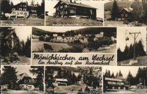 Moenichkirchen Hallerhaus Studentenkreuz Universitaetsheim Norge Kat. Moenichkirchen