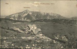 Rax Schneeberg Erzherzog Otto Schutzhaus Kat. Kapellen