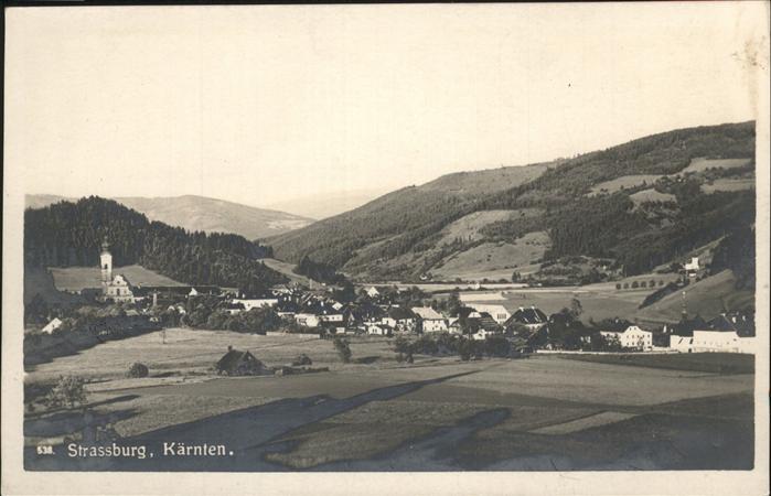Strassburg Kaernten  Kat. Strassburg