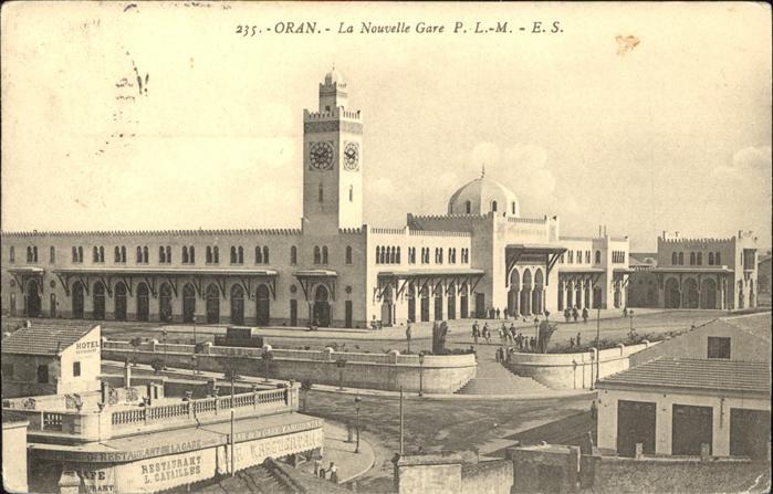 Oran Algerie La Nouvelle Gare Kat. Oran