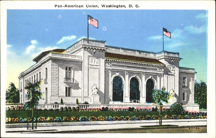 Washington DC Pan American Union Kat. Washington