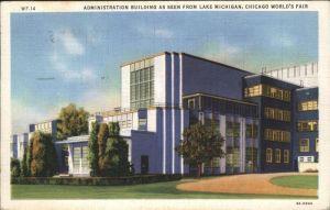 Chicago Illinois World s Fair Administration Building Kat. Chicago