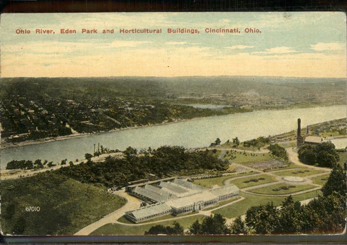 Cincinnati Ohio Ohio River Eden Park Horticultural Buildings Kat. Cincinnati