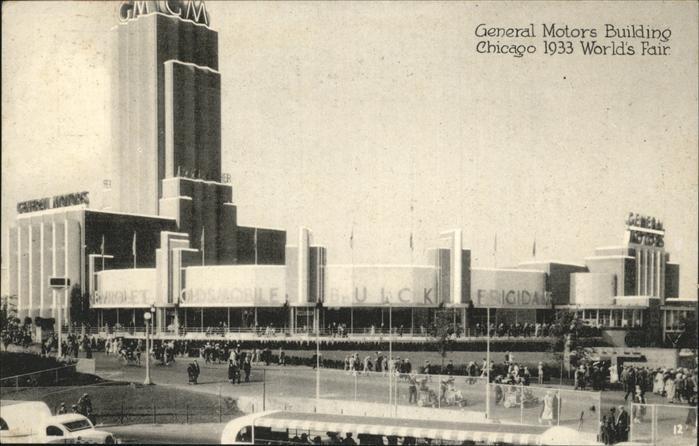 Chicago Illinois General Motors Building Kat. Chicago