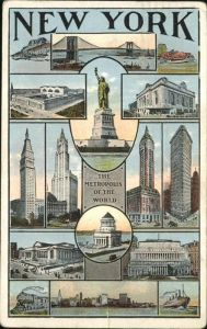 New York City The Metropolis of the World / New York /