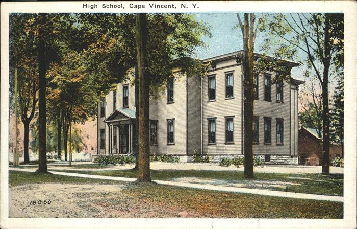 Cape Vincent High School Kat. Cape Vincent