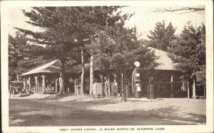 Schroon Lake Grey Goose Lodge Kat. Schroon Lake