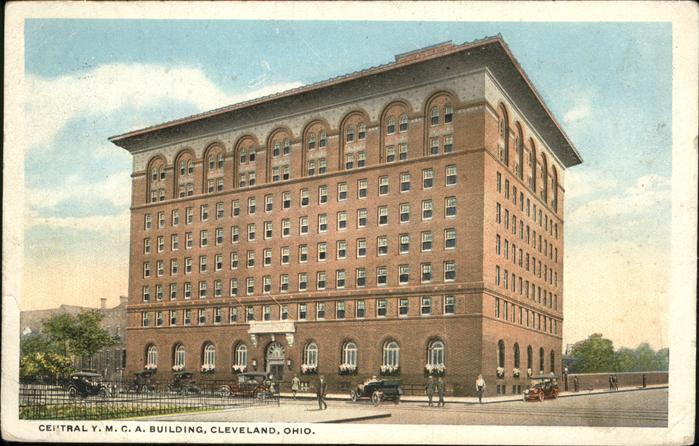 Cleveland Ohio Central Y.M.C.A. Building Kat. Cleveland