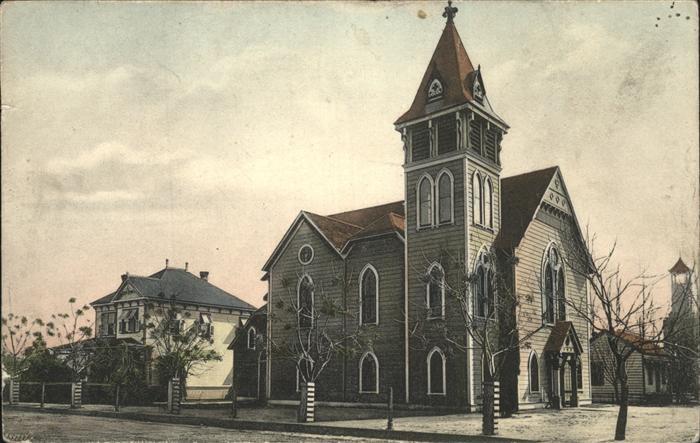 Fresno California Congregational Church Kat. Fresno