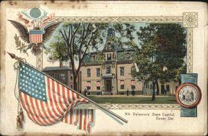 Dover Delaware Delaware State Capitol Kat. Dover