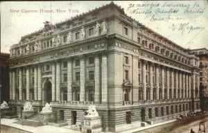 New York City New Custom House / New York /