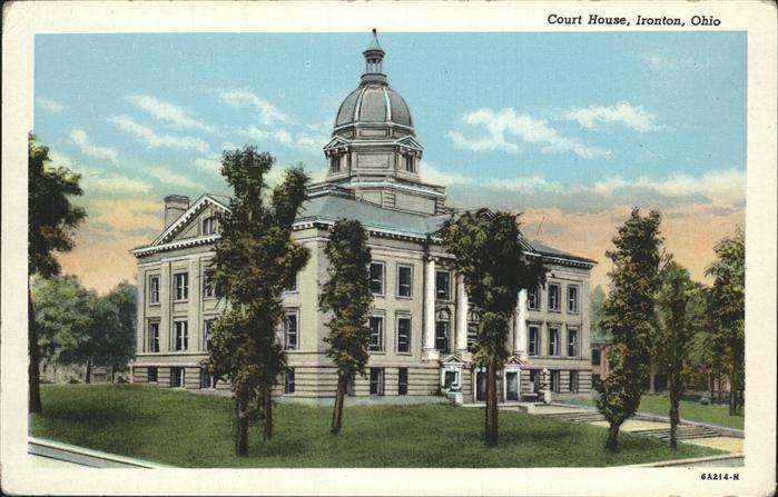 Ironton Ohio Court House Kat. Ironton