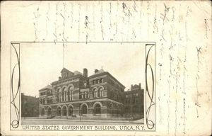 Utica New York United States Government Building Kat. Utica