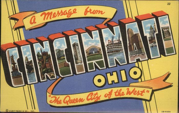 Cincinnati Ohio  Kat. Cincinnati