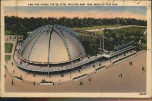 New York City United States Steel Building Worlds Fair 1939 / New York /