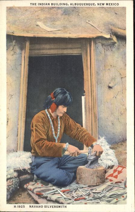 Handwerk Navaho Silversmith Kat. Handwerk