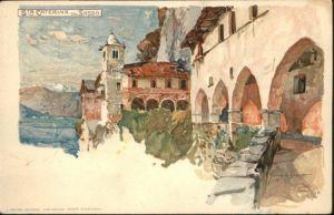 ca03147 Wielandt Manuel Litho San Caterina Kuenstler Manuel Wielandt * Kategorie. Kuenstler Alte Ansichtskarten