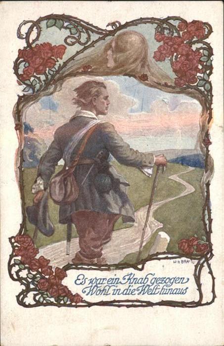 Verlag Schulverein Nr Nr. 1063 Wanderer / Bund der Deutschen /