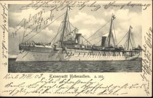 Schiffe Kaiseryacht Hohenzollern A101 / Schiffe /