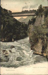 10962866 Eisenbahn Gotthardbahn Viadukt  Eisenbahn Eisenbahn