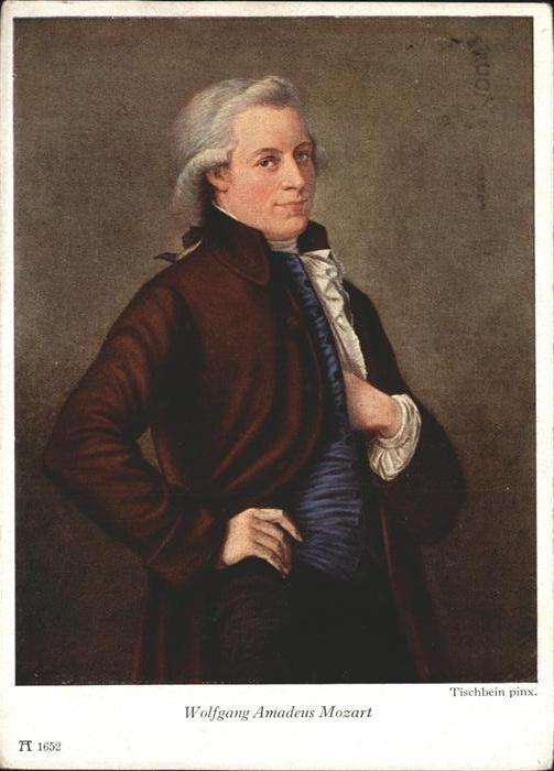 Mozart Wolfgang Amadeus Wolfgang Amadeus Mozart Kuenstler Tischbein / Komponist /