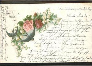 Rosen Schwalben Lausanne Kat. Pflanzen