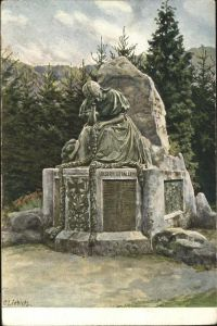 Liebich C. Kriegsgefallenen Denkmal Gutach Kat. Kuenstlerlitho