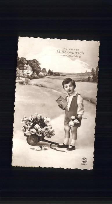 Geburtstag Glueckwunschkarte Junge Kat. Greetings