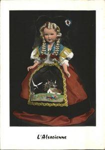 Trachten Alsacienne Puppe Kat. Trachten