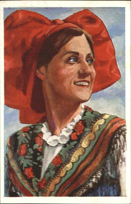 Trachten En Alsace Costume Kat. Trachten