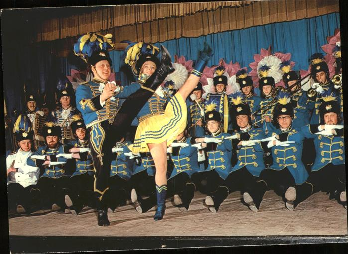 Karneval Koeln Treuer Husar Tanz  Kat. Feiern und Feste