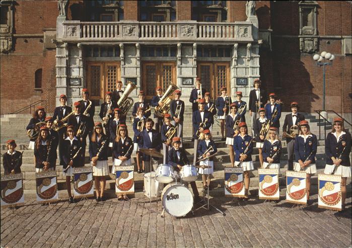 Musikanten Jugendblasorchester CONCORDIA Kiel Kat. Musik