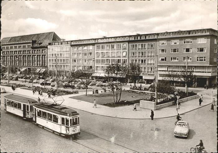 Strassenbahn Kiel Holstenplatz Kat. Bahnen