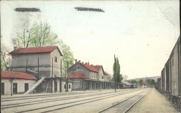 Salgotarjan Vasuti allomas Bahnhof