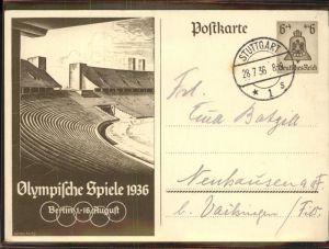 Olympia Olympische Spiele Berlin  Kat. Sport