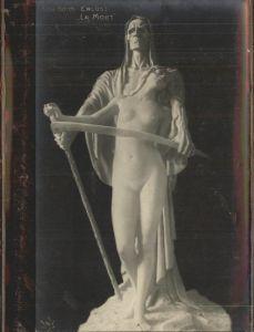 pw36466 Skulpturen Elna Borch Erloest La Morte Kat. Skulpturen
