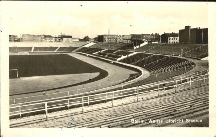 Stadion Walter Ulbricht Berlin Kat. Sport