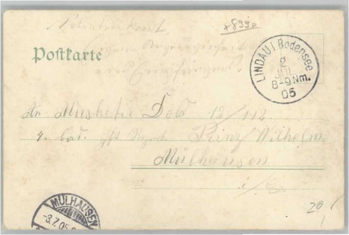 we58879 Diemer Zeno Litho Lindau Bodensee Kuenstler M. Zeno Diemer x Kategorie. Kuenstler Alte Ansichtskarten 1