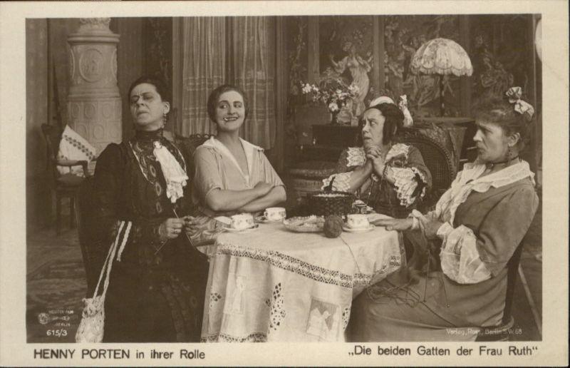 Verlag Ross Nr. Henny Porten Frau Ruth Handarbeit 615/3 Zigarette Tee / Kino und Film /