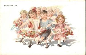 Tanzen Kinder Rosenkette / Sport /