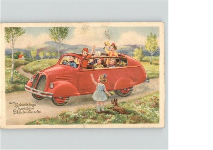 Geburtstag Auto Kinder Greetings Nr Wf47454 Oldthing