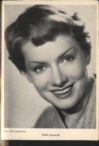 Schauspieler Ruth Leuwerik / Kino und Film /