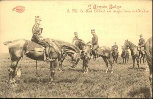 Militaria Belgien Pferde S. M. le Roi Albert / Militaria /