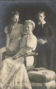 Adel Preussen Kaiserin Auguste Viktoria Prinz Joachim Prinzessin Victoria Luise / Koenigshaeuser /