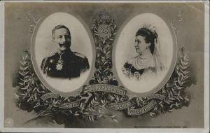 Wilhelm II Kaiserin Auguste Viktoria Silberhochzeit / Persoenlichkeiten /