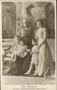 Adel Preussen Wilhelm II Kaiserin Auguste Viktoria Tochter Viktoria Luise Kinder / Koenigshaeuser /